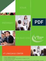 Brochure VT Language Center