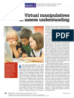 virtual manipulatives nctm article