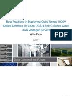 Best Practices in Deploying Cisco Nexus 1000V