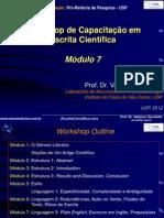 Workshops Escrita Modulos 7 8