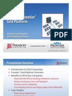 Parabon's Frontier® Grid Platform Extreme-Scale Enterprise Grid Computing Software