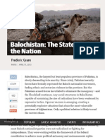 'Balochistan_ the State Versus the Nation
