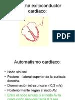 Sistema excito conductor y fenómenos diastólicos y sistólicos aspectos fisiologicos.