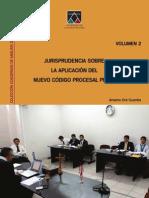 volumen2 de jurisprudencia sobre el nuevo código procesal penal