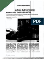 Autonomia Administrativa e Técnica Corpo de Bombeiros_RS_Revista Incêndio87_Out12