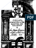 La Gigantomaquia y Otros