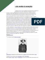 HISTORIA DO AVIÃO