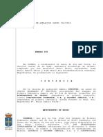 Audiencia Provincial de Asturias. Sección nº 4 de Oviedo. Mieres vs. Eroski por la construcción de un hotel en Santullano.