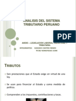 Analisis Del Sistema Tributario Peruano