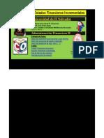 2013 Proyección EF Incrementales  V.13.1 Ejemplo de cátedra