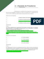 Evaluaciones 1 y 3 Servicio Al Cliente