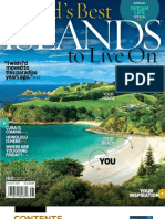 Islands Magazine Aug 09 Cover Contents