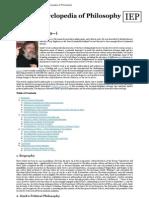 Zizek, Slavoj [Internet Encyclopedia of Philosophy