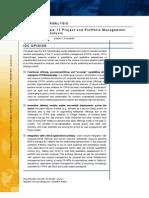 IDC MarketScape IT Project and Portfolio Management 2009