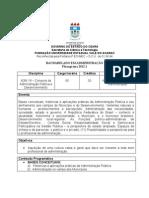 ADM 19 - CONEXOS de ADMINISTRAÇÃO PÚBLICA e DESENVOLVIMENTO