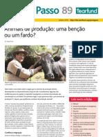 Revista Passo a Passo 89 Tearfud - Animais de Produção