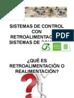 SISTEMAS DE CONTROL CON RETROALIMENTACIÓN