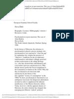 Zizek - Psychoanalysis in Post-Marxism the Case of Alain Badiou