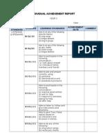 kssr english year 3 individual report