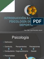 S1-S2 Introducción a la psicología del deporte