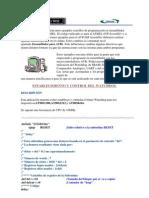 En esta sección se muestran unos ejemplos sencillos de programación en ensamblador de AVRs de la casa ATMEL