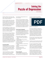 Solving the Puzzle of Depression