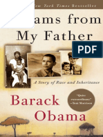 Dreams From My Father, by Barack Obama - Excerpt