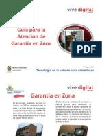 Gu+¡a Atenci+¦n de Garant+¡a en Zona