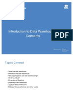 Introduction to Data Warehousing Concepts
