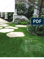 "Shaw Southwest Greens ""Bolt"" 60 Synthetic Grass"