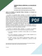 H GOLDSTEIN, LA  POLÍTICA  DE  SEG PUB ORIENTADA  A  LA  SOLUCIÓN  DE PROBL