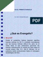 Marcos El Primer Evangelio