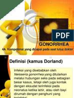 Gonorrhea