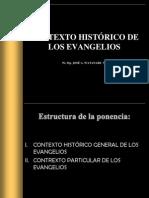 CONTEXTO HISTÓRICO DE LOS EVANGELIOS PONENCIA