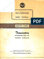 RCA Transistors Introduction to Theory-Circuits