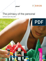 The Primacy of the Personal