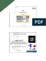 IBM pSeries AIX Basic Security