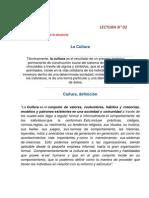 LECTURA N 02 - La Cultura Organizacional