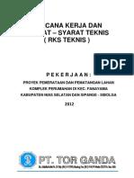 Dokumen Penawaran Dan RKS Timbunan Nias - Sibolga