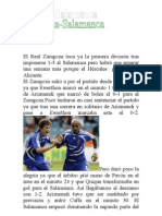 El Real Zaragoza toca ya la primera división tras imponerse 1