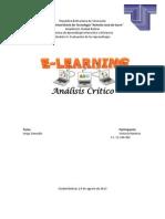 Analisis Critico E-learning