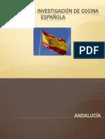 Trabajo de investigación de cocina española