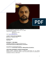 CV Alejandro Anaya Bello