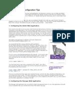 Top Ten Tomcat Configuration Tips