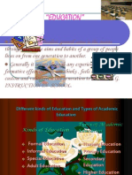 Microsoft PowerPoint Presentation -education