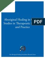 Aboriginal Healing in Canada