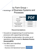 DAIRY FARM GROUP- Redesign of