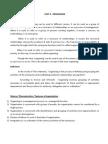 Pom - Organisation Notes