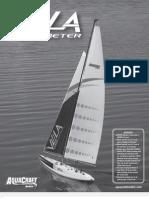 Vela One Meter RC Sailboat Manual