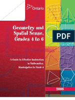 Guide Geometry Spatial Sense 456